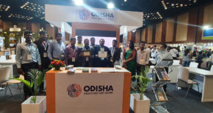 Odisha Current Tourism News : Odisha Tourism Bags Excellence Award For Best Stall Decoration At TTF, Hyderabad
