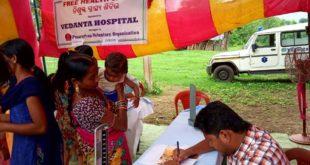 Vedanta Hospital conducts Mega Health Camp inLanjigarh: Hundreds avail benefit