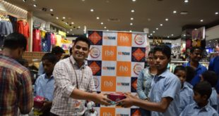 Big Bazaar brings smile to faces of a bunch of underprivileged kids this Children's Day